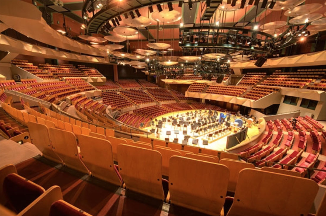 Boettcher Concert Hall • Denver Performing Arts Complex, Denver, CO